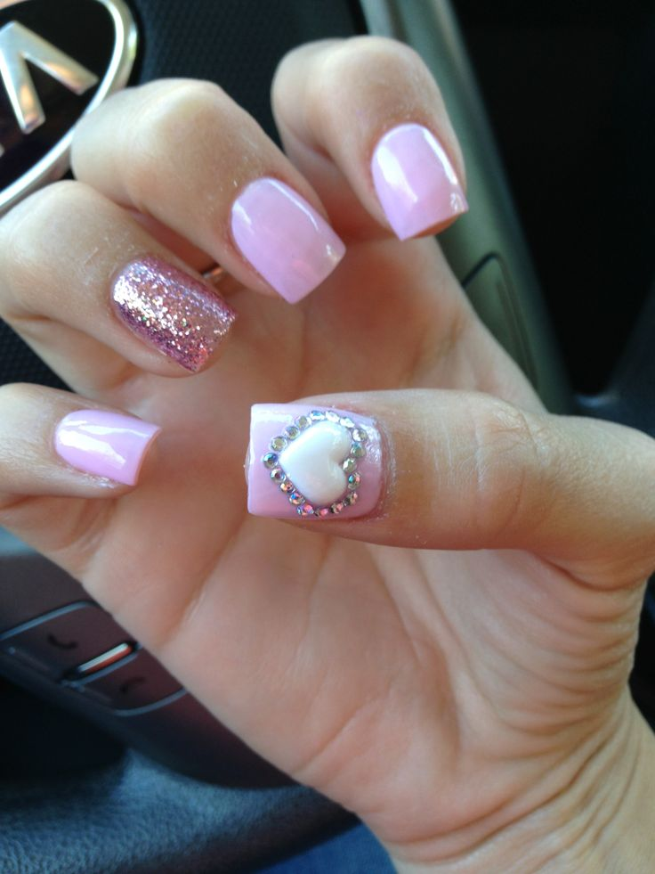 pastel pink acrylic nails nails pinterest acrylics