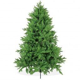 Künstlicher Weihnachtsbaum Spritzguss 180cm DeLuxe PE, grüner Tannenbaum Nordmanntanne, Christbaum