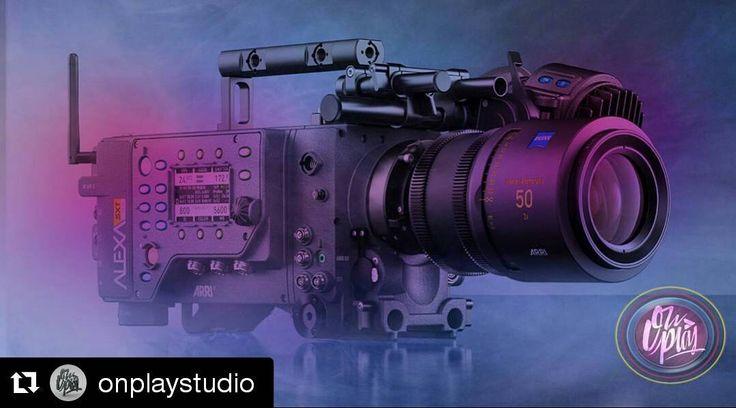#Repost @onplaystudio with @repostapp  Nueva #ALEXA SXT (Tecnología de Super Extended) cámaras de ARRI y SXR (Grabación superextendida) actualización Módulo representan el siguiente paso emocionante en la continua evolución de la familia ALEXA. El manteni