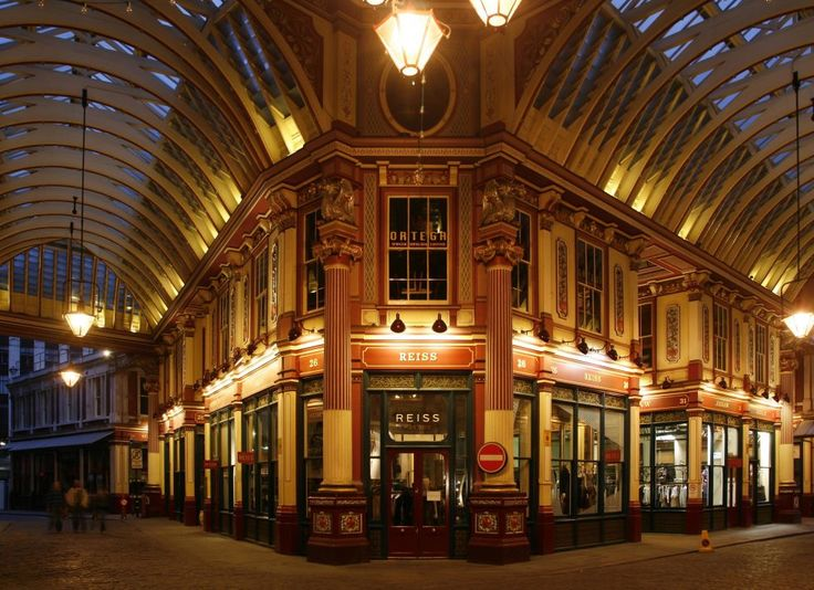 Before Warner Bros. Studios built the Diagon Alley set, they used Leadenhall Market in London for the exteriors of the shops in the first movie in theseries.It only seems right that the place where Harry Potter bought his wand is full of charm and charisma.