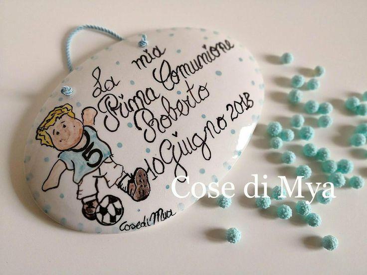 Targhetta in ceramica , by COSE DI MYA, 10,00 € su misshobby.com