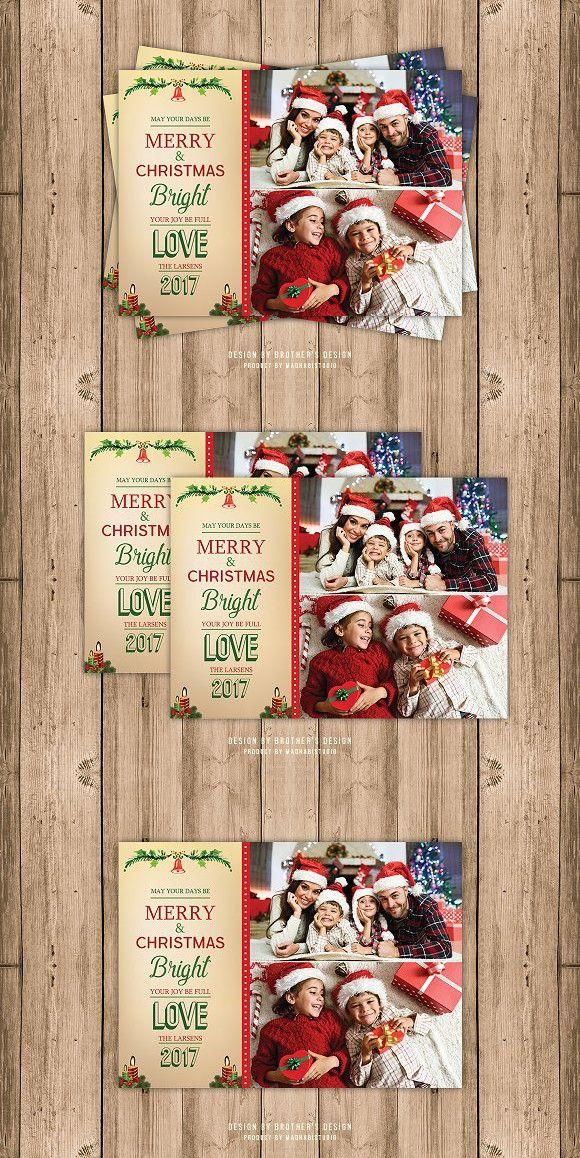 Bright Christmas Card Template Christmas Card Template Card Template Christmas Cards