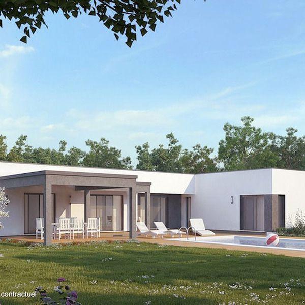 Modèle de maison TITANIUM - . Retrouvez tous les types de maison à vendre en France sur Faire Construire Sa Maison
