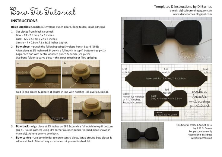 Bow tie tutorial using envelope pnch board masculine suit - tuxedo birthday - fathers day card with templates & tutorial link using Stampin' Up supplies. By Di Barnes #colourmehappy #stampinup #makesomething