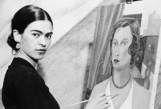 Frida Kahlo - Although I'm sure she would take issue with being called a princess, she was certainly a woman who rescued herself.