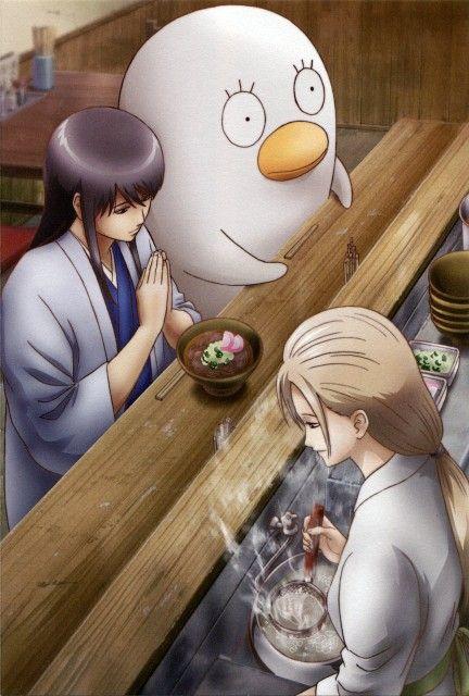 Hideaki Sorachi, Sunrise (Studio), Gintama, Ikumatsu, Elizabeth (Gintama)