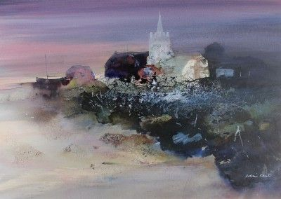 Colin KENT, U.K.-Evening Light. Mixed Media