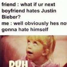 Justin Bieber Boyfriend // HAHA well that could definitely be me :D