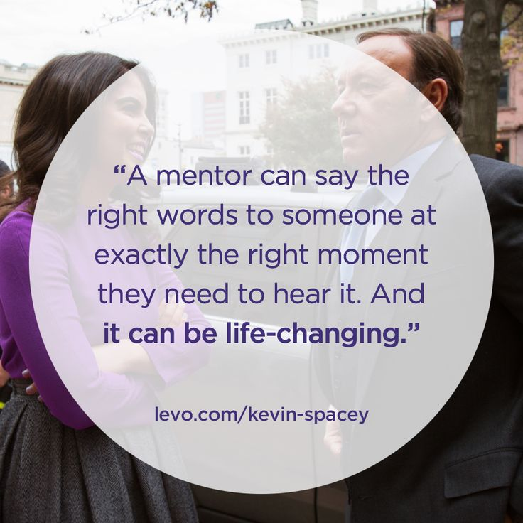 A mentor changed his life, and he'll change yours. Kevin Spacey Unplugged: http://levo.im/Kevin-Spacey-OH