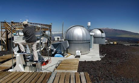MAUNA LOA OBSERVATORY, where CO2 levels are recorded at 400 ppm and yet nothing changes