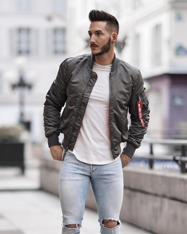 ae5a69692 Best Men's Bomber Jackets Collection For This Fall 2018 27. Click ...