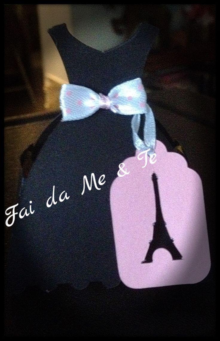 """""""Fine festa"""" tema Parigi ..  Compleanno in scatola!"""