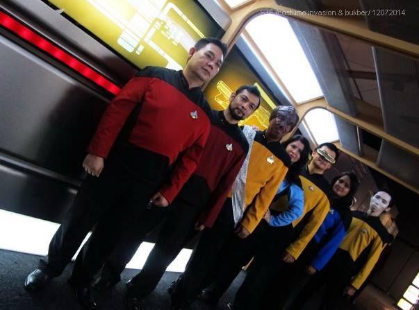 20140712 : Costume Invasion Day - TNG crew, tks to Bunda Emmy.