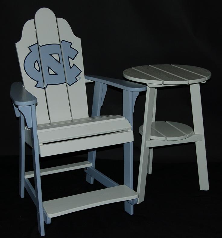 UNC Bar Table, I Must Have It!!! :). Bar ChairsBar TablesUnc TarheelsTar  HeelsBasketball ...