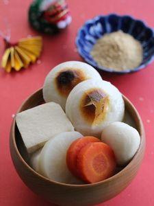 奈良のきなこ雑煮