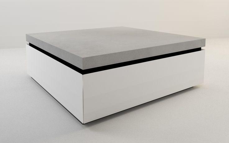 die besten 25 couchtisch beton ideen auf pinterest betontisch couchtisch design betontisch. Black Bedroom Furniture Sets. Home Design Ideas