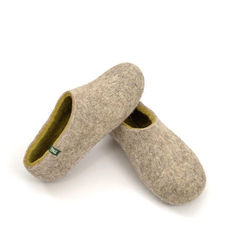 Wooppers slippers from the DUAL NATURAL collection for women #felted #comfort