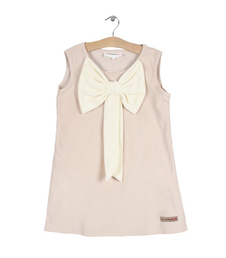 Cream Inez Dress by My Cinnamon Girl