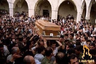 Lebanese Civil War 1982, Bachir Gemayel funeral