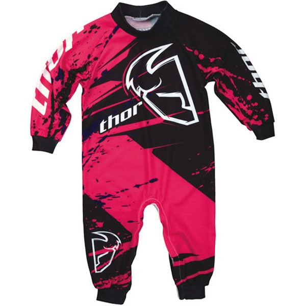 Awww reminds me of baby Reese!    Thor Motocross Infant Pajamas