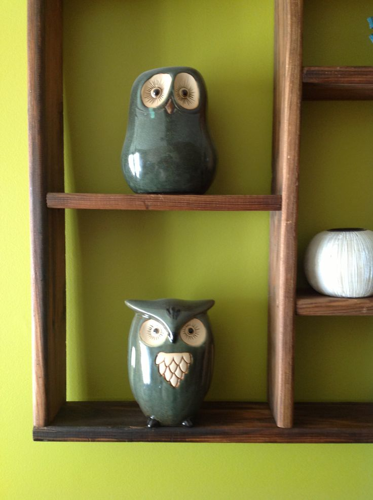 A pair of owls.