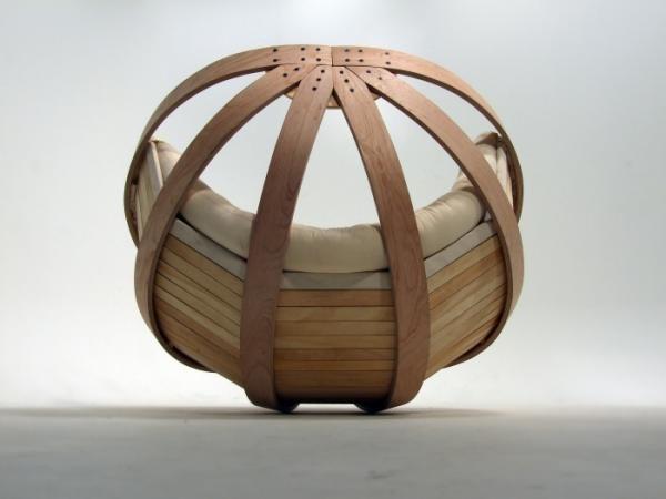 The cradle schommelstoel wieg Richard Clarkson