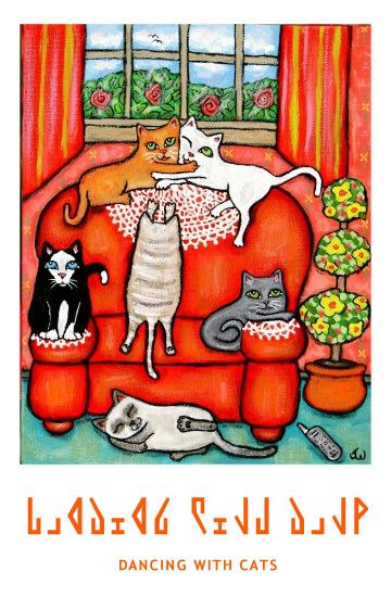 dancing with cats | http://godgul.com