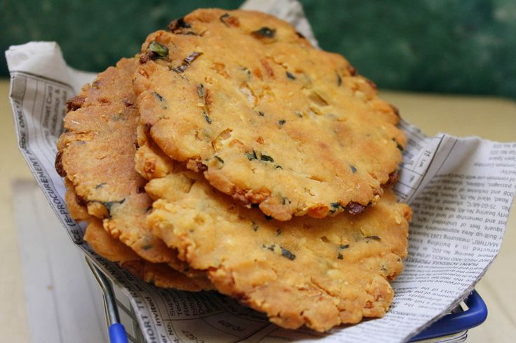 Baked Maddur Vada Recipe