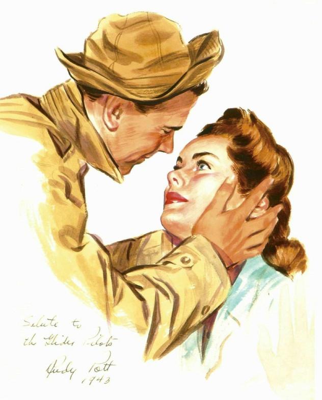Jon Whitcomb ~ ca. 1940s.