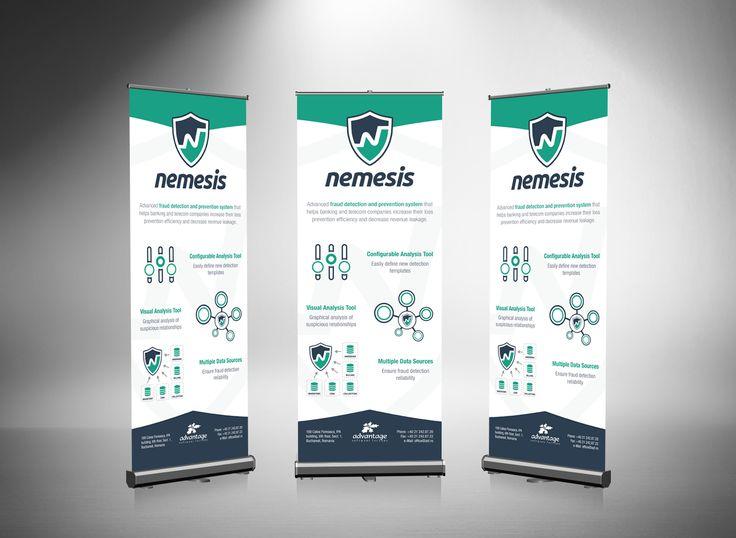 Nemesis - Roll-Up Banner on Behance