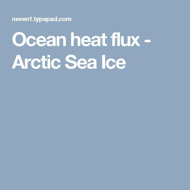Ocean heat flux - Arctic Sea Ice