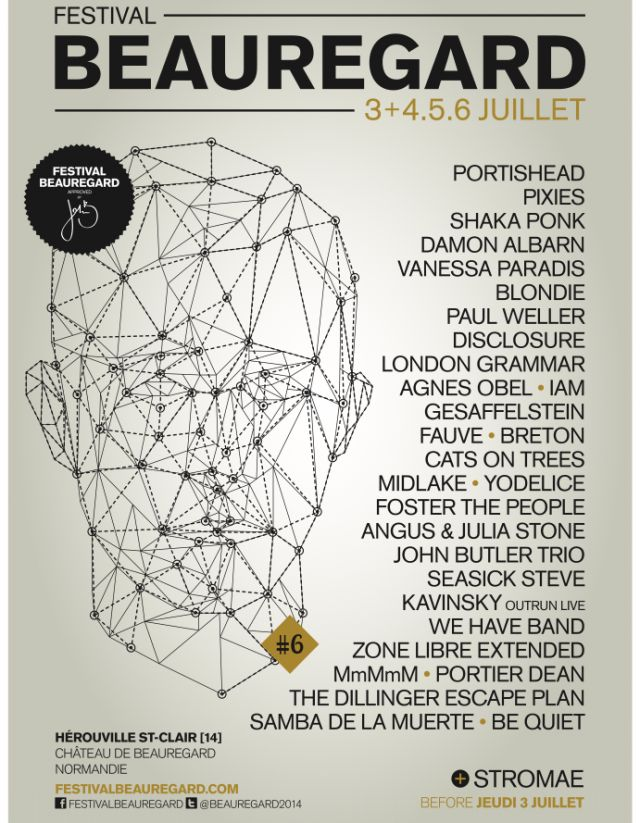 Festival Beauregard du 3 au 6 juillet à Hérouville-Saint-Clair - HARTZINE : THE INDIE MUSIC WEBZINE