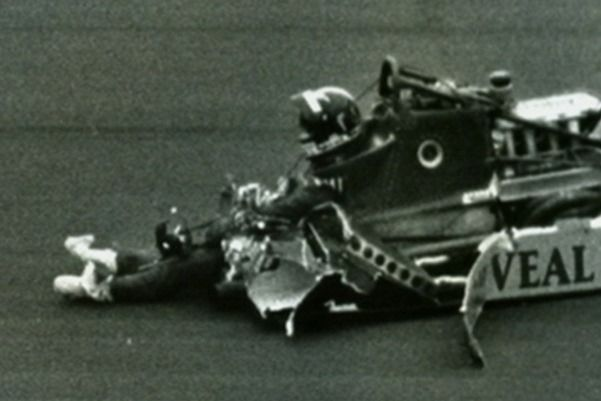 indycar crashes' | Indy Car Crash Legs Daly somehow survived this