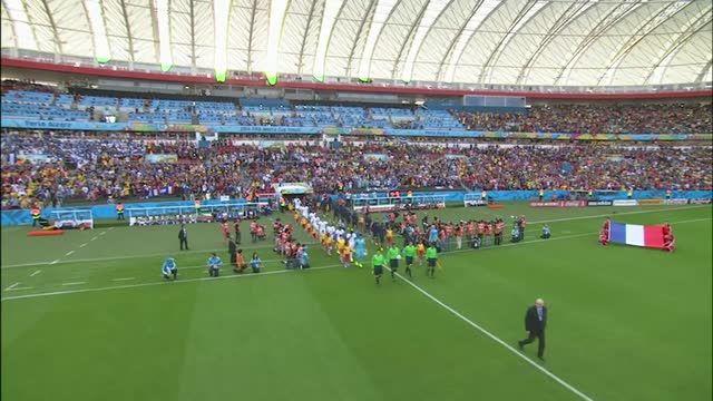 Francia-Honduras 3-0
