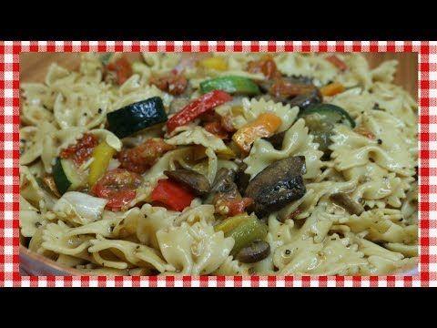 Roasted Vegetable Pasta Salad ~ Spring Pasta Salad Recipe ~ Tasty Easter Recipe ~ Noreen's Kitchen - YouTube