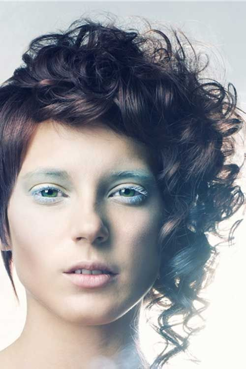 asymmetrical haircuts for curly hair 17 best images about 20 curly asymmetrical pixie 4591