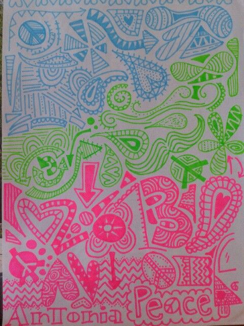 2013! Sharpies... by Antonia Gonzalez