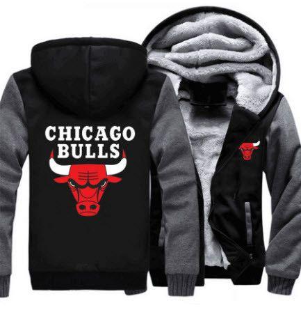 NBA CHICAGO BULLS THICK FLEECE JACKET