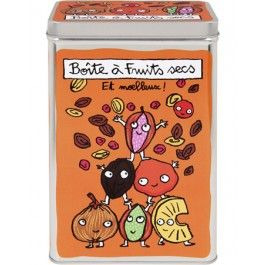 Derriere la Porte - Dry fruits box orange