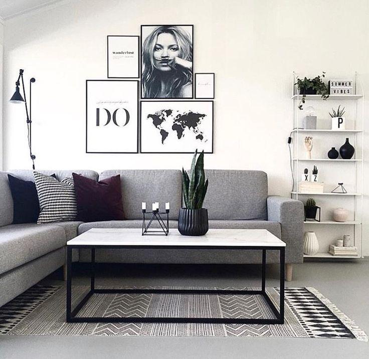 #interiorinspo #livingroom #decor #couch #wallart