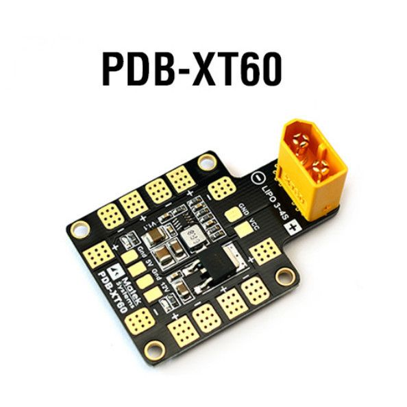 MATEK Mini Power Hub Power Distribution Board PDB with BEC 5V/12V and XT60