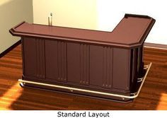 Home Bar Plans Easy Designs To Build Your Own Clic L Shaped