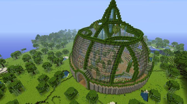 Greenhouses minecraft my little spawn 3 minecraft for Bauideen minecraft