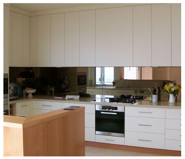 1000+ images about bronze mirror splash back in Kitchens