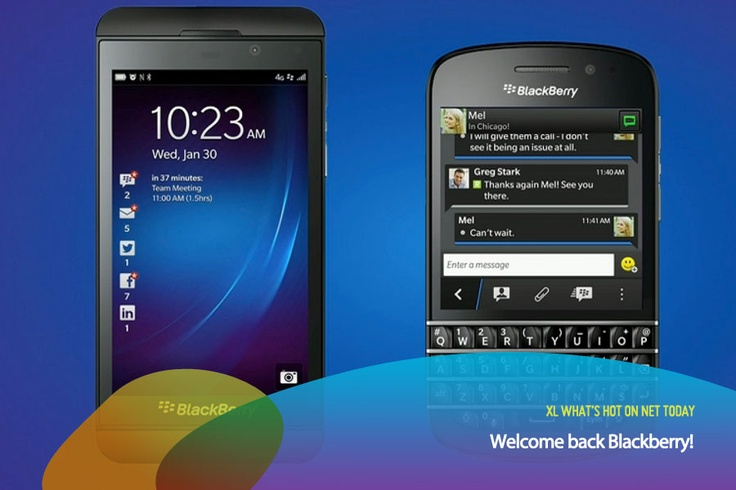 2 Smartphone baru dari Blackberry adalah Blackberry Z10 (kiri) dan Q10 (kanan). Penasaran specnya seperti apa? Tunggu review dari kami yaa di rubrik #GadgetXploration