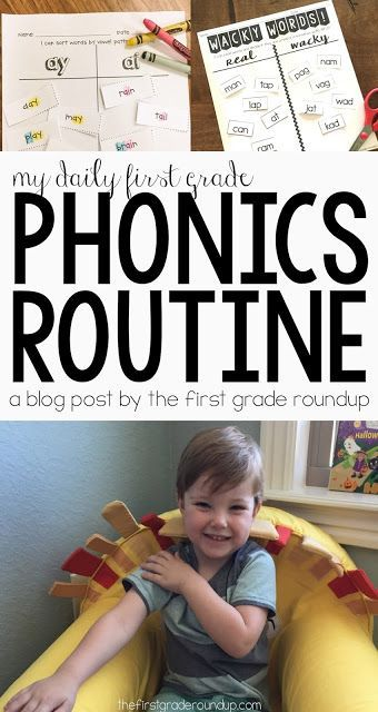 Weekly Phonics Routine | Read how phonics went from my most dreaded subject to my favorite thing to teach my first graders!