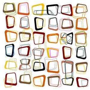 Design retro cubes II - e-papier-peint.com
