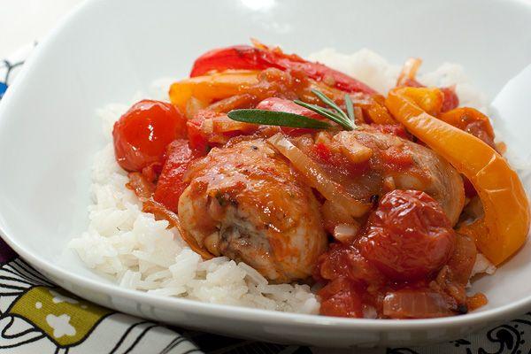 Курица запеченная совощами http://amp.gs/zkbw  #foodclub #рецепт #вкусно #обед #ужин