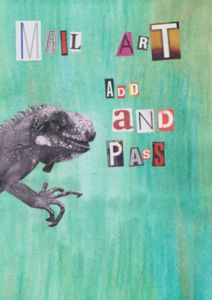 Add and Passes started by Tiina from Finland http://www.tiinafromfinland.com/mail-art/add-and-pass/byme/ #mailart #add&pass
