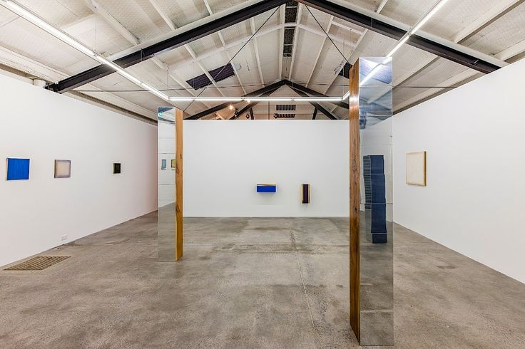 The first exhibition at Tim Meville's new gallery, Johl Dwyer - interior, takes advantage of the reconfigured space.